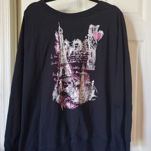 Pretty Paris sweatshirt in like new condition